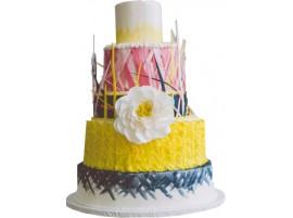 Свадебный торт «Фантазийный»