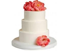 Свадебный торт «Пион»