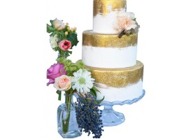 Свадебный торт «Золотой рассвет»