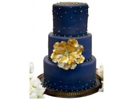 Торт свадебный «Звездное небо»