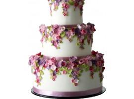 Свадебный торт «Летний»