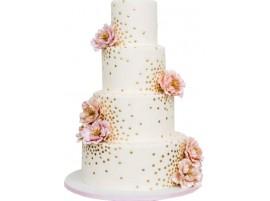 Торт свадебный «Золотая россыпь»