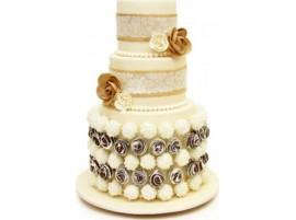 Свадебный торт «Нежные чувства»