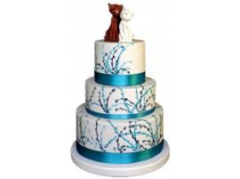 Свадебный торт «Мартовские котики»