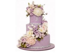 Торт свадебный «Утонченная роскошь»