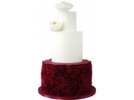 Свадебный торт «Страсть и нежность»