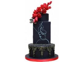 Свадебный торт «Он и Она»