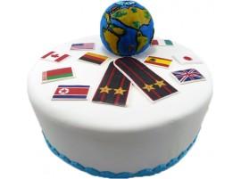 Корпоративный торт С повышением № 10