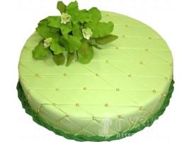 Торт Нежная мята № 555