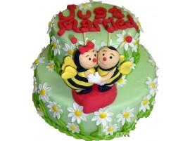 Детский торт № 581
