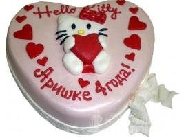 Детский торт Hello Kitty № 585