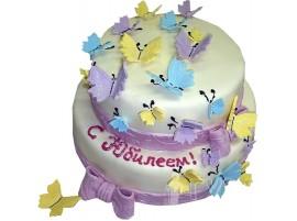 Торт Полет бабочек № 584