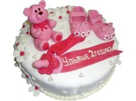 Детский торт Мишка малышка № 612