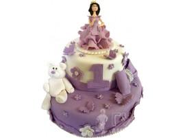 Детский торт Принцесса № 640