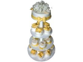 Свадебный торт с капкейками № 641
