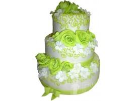 Торт Вальс цветов № 642
