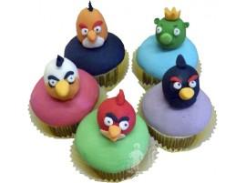 Детский торт Забавные Angry Birds № 645