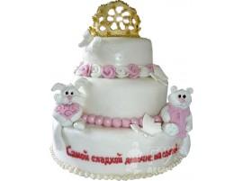 Детский торт Сладкой деточке № 651