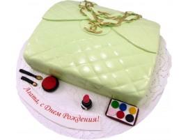 Детский торт Сумочка Gucci №126