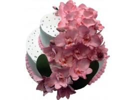 Праздничный торт Орхидеи № 32