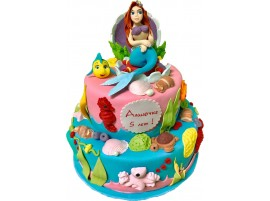 Детский торт Русалочка № 215