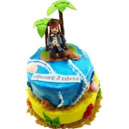 Детский торт Пират № 246