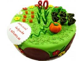 Юбилейный торт Огород № 152