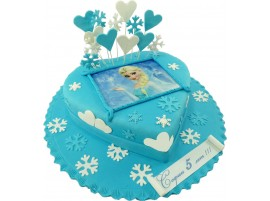Детский торт Холодное сердце № 378