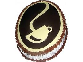 Корпоративный торт № Идеальная чашка 498