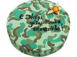 Юбилейный торт Защитнику отечества № 258