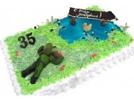 Юбилейный торт Охотник № 193