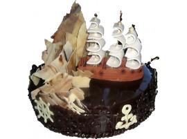 Юбилейный торт Парусник № 287