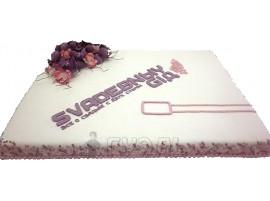 Корпоративный торт Свадебный гид № 512