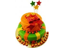Детский торт Радужный № 367