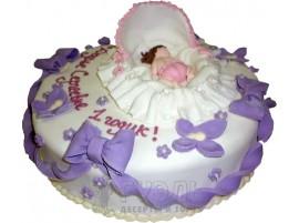 Детский торт Мне годик № 380