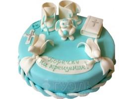 Детский торт С крещением № 400