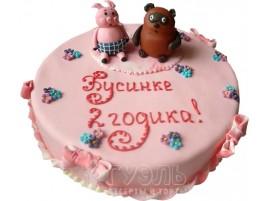 Детский торт Винни пух № 418