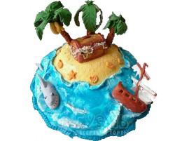 Торт Необитаемый остров № 430