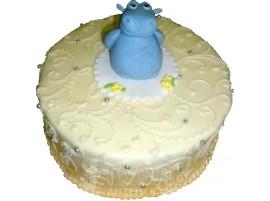 Детский торт Бегемотик № 436