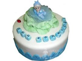 Детский торт Сын родился № 458