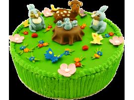 Детский торт Бемби № 597