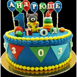 Детский торт Один Годик № 264