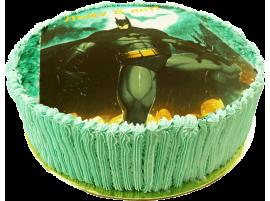 Детский торт с фотопечатью Бэтмен № 274