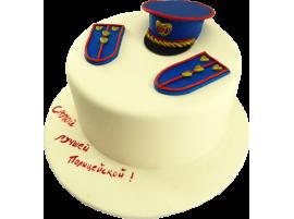 Торт для самой лучшей полицейской!  № 356