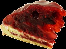 Пирожное Фьюжн ежевично-малиновый