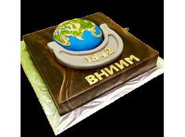 Корпоративный торт ВНИИМ имени Менделеева № 287