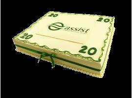 Корпоративный торт ASSIST № 320