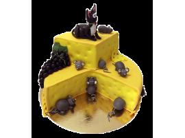 Детский торт Кошки-мышки № 254