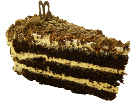 Пирожное Макинтош с вареной сгущенкой 115г