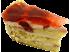 Пирожное Шопен клубничный